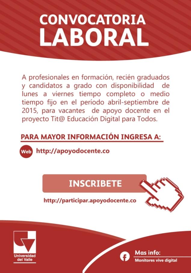 Egresados facultad de ciencias de la administraci n for Convocatoria docentes exterior